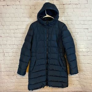 The North Face 550 goose down parka size large